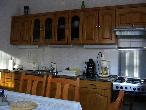 Felső szint konyha